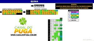 Planilha Quina - Jogue com 3 Grupos de 13 Dezenas Fechando Terno