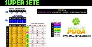 Planilha Super Sete - Jogue com 14 Numeros e Garantia de Quina
