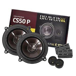 """Kit 2 Vias 5"""" Bravox Premium CS50P 120W RMS"""