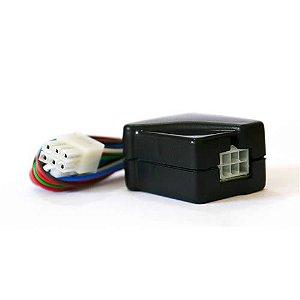 Central de travas elétricas universal para motores de 2 e 5 fios com conector minifit