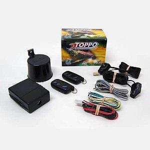Alarme toppo 24 v para caminhão CM900 com 2 controles remotos