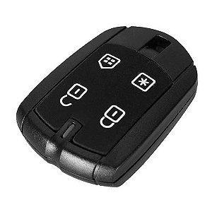 Capa para controle remoto alarme positron PXN52 4 botões