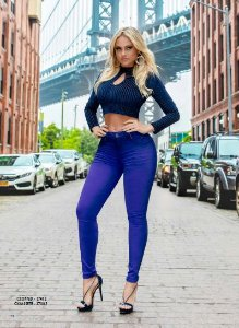 Calça Hot Pants Pit Bull Jeans Com Bojo Ref 27003