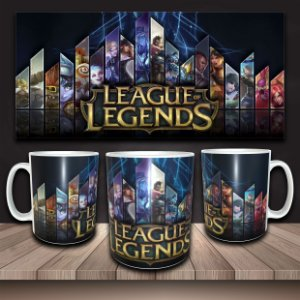 Caneca LoL - League of Legends