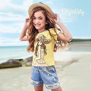 ◼ Kit Kely Kety Verão - Composto por: 30 Peças, Sendo: Conjuntos, Vestidos e Avulsas.