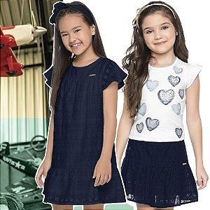 ◼ Kit Quimby Alto Verão 2020 - Composto por: Conjuntos e Vestidos; Grade: 01 ao 14;  Sendo 30 peças ◼ IMAGENS ILUSTRATIVAS