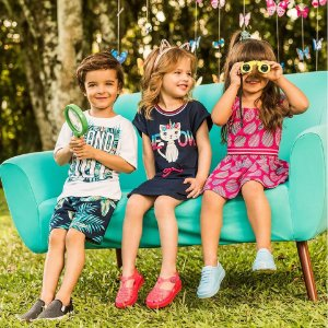 ◼ Kit Kyly Coleção 2019 - Composto por: 45 Peças, Sendo: conjuntos e vestidos