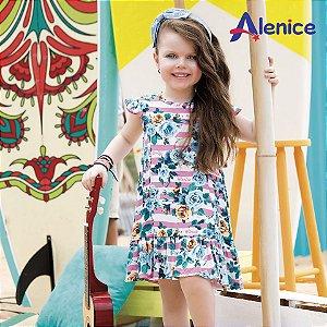 ◼ Kit Alenice - Composto por: 30 Peças, Sendo: Conjuntos, Vestidos e Avulsas, Grade: P ao 14