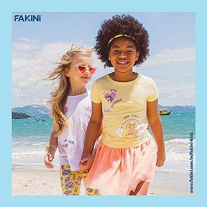 ◼ Kit Fakini Kids - Sendo: Conjuntos e Vestidos, Contém: 10 peças