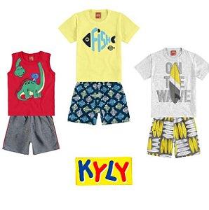 ◼ Kit Kyly - Composto por: 30 peças, Grade: P ao 16.