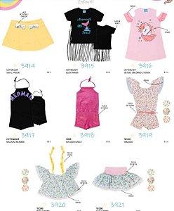 Kit promocional Planet Blue para as princesas 32 avulsas