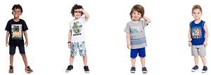 ◼ Kit Brandili Promocional - Composto por: 54 Peças, Grade: P ao 18, Sendo: Conjuntos, Vestidos e Avulsas. IMAGENS ILUSTRATIVAS.