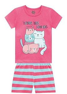 ◼ Kit Brandili Pijamas - Composto por: 30 peças, Grade: 01 ao 10, Sendo: Conjuntos e Camisolas. IMAGENS ILUSTRATIVAS