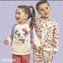 ◼ Kit Kamylus Inverno - Composto por: 32 peças, Grade: P ao 18, Sendo: Conjuntos, Vestidos e Avulsas (podendo conter vestidos e camisetas verão). IMAGENS ILUSTRATIVAS