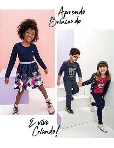◾ Kit Brandili Normal Inverno, Composto por: 30 peças, Grade: P ao 16, Sendo: Conjuntos e Vestidos. IMAGENS ILUSTRATIVAS