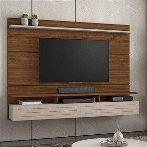 Painel para TV até 60 Polegadas Tulha Rovere/Off White