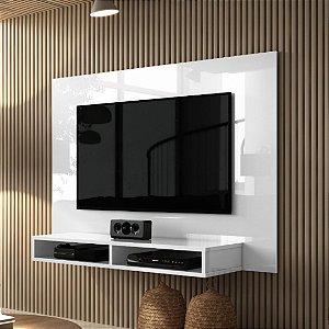 Painel para tv até 42 polegadas com nicho Fox Branco