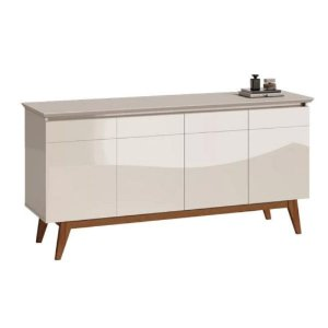 Buffet 4 Portas Classic Off White Imcal