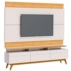 Rack com Painel para TV até 60 Polegadas Classic 3G+ 1.8 Off White Nature Imcal