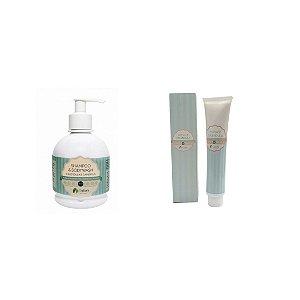 Kit Shampoo Body Wash e Pasta de Calêndula - Cativa