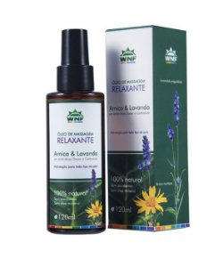 Óleo de Massagem Relaxante Arnica & Lavanda - 120ml