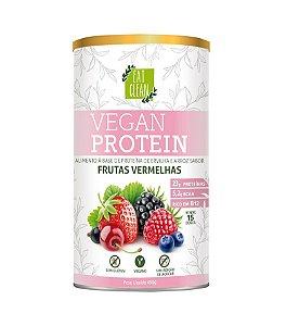 Proteína Vegana - Vegan Protein Frutas Vermelhas Eat Clean - 450g