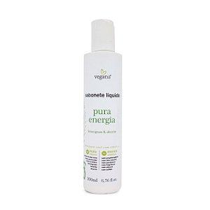 Sabonete Líquido Pura Energia 200ml - Linha Vegana