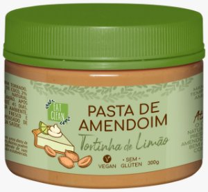 Pasta de Amendoim Tortinha de Limão 300gr