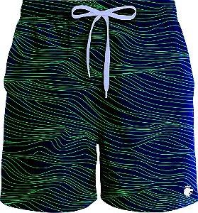 Boardshort Lines Azul