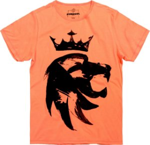 T-thirt spatel lion laranja