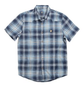 Camisa light chess marinho