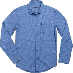 Camisa small square azul