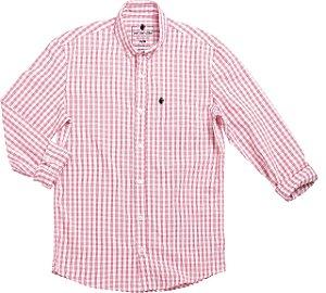 Camisa vierkant rosa