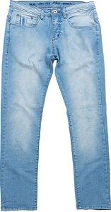 Calça jeans verbinding light denim