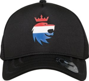 Boné lion 3d Nederlands preto