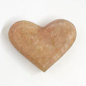 Coração de Ametista Rosa - Peça Única