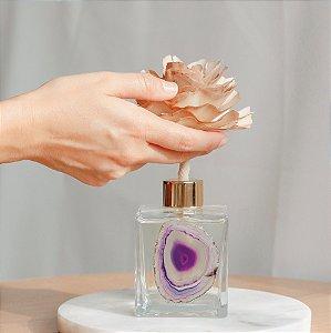 Aromatizador de Ambiente - Difusor com Flor Madeira