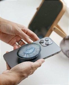Pop Socket- Suporte para celular em Ágata