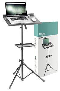 Stagg COS10 BK - Suporte para laptop com mesa extra