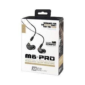 MEE Audio M6 PRO Black - 2ª Geração