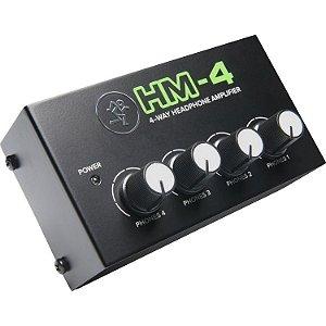 Mackie HM-4 Amplificador para Fone de ouvido
