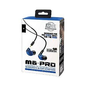 MEE Audio M6 PRO Blue - 2ª Geração