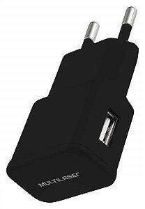 Carregador de Parede Multilaser SmartGo Preto - CB104