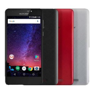 Celular Smartphone MS55M 3G 5.5' Dual Chip Memória 16GB Bluetooth Multilaser Preto NB700