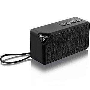 Caixa De Som Multilaser Bluetooth 8w Micro Sd Preto Sp174