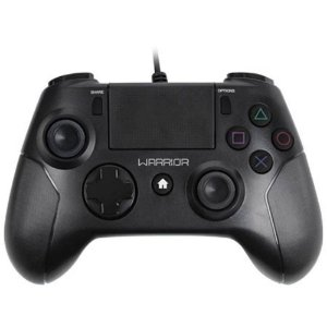 CONTROLE MULTILASER WARRIOR JOYPAD PRO PS3/PS4/PC PRETO, JS083