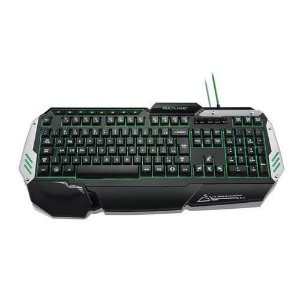 Teclado Multilaser Profissional Gamer Preto e Prata com LED USB - TC189