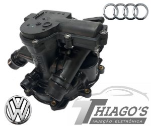 Carcaça bomba D'água Audi A3 / Golf / Fusca 1.8 - 06l121111H - 06l121111G - 06l121111F