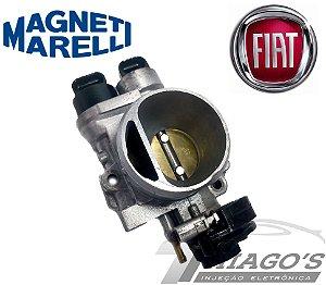 Corpo de borboleta - TBI Fiat Palio / Uno / Siena 1.0 - 1.5 Fire - 38SXBF01 (Sensor embutido)