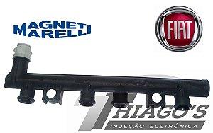 Flauta de combustivel - Fiat Palio / Siena / Uno / Strada 1.0 e 1.4 - Cu0012179